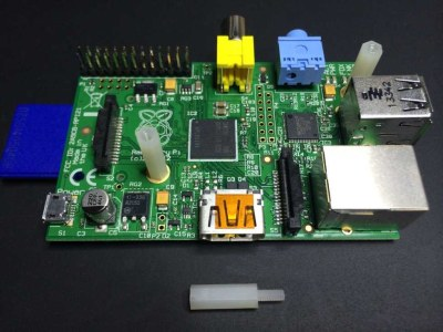PiScreen Case PCB stand off