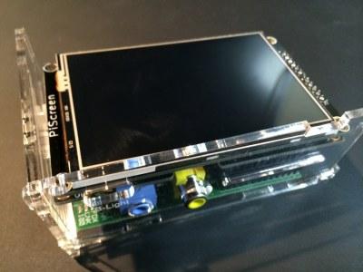 PiScreen Case PCB assemble - step 3