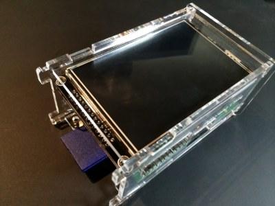 PiScreen Case PCB assemble - step 5