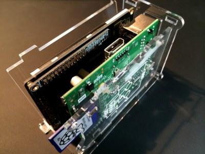 PiScreen Case PCB assemble - step 4