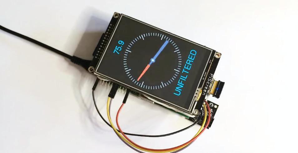 Raspberry Pi Digital compass
