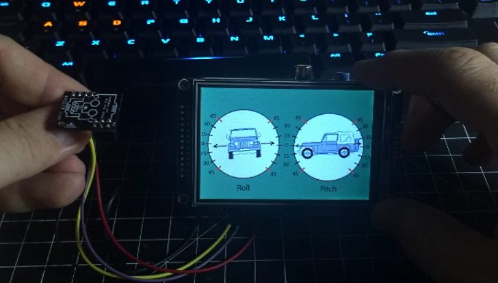 How to Create an Inclinometer using a Raspberry Pi and an