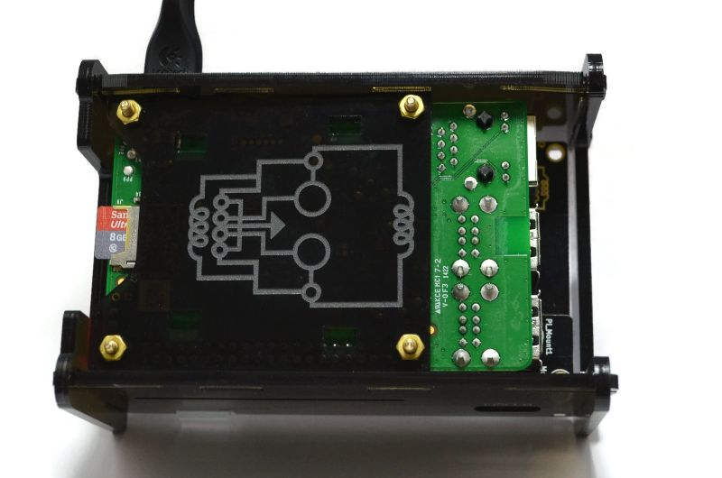 Raspberry Pi 2 Case PiScreen