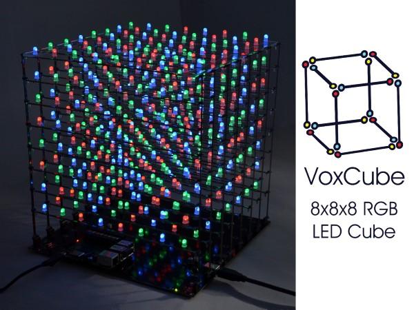 LED Cube Raspberry Pi