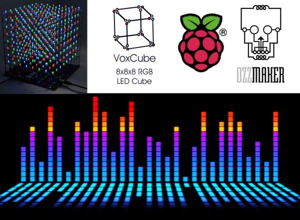Raspberry Pi Audio visualiser