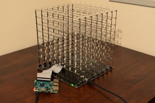 Raspberry Pi LED cube